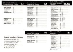 Ridgeway bus service page 1