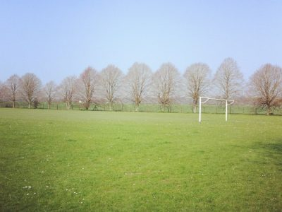 Playing field in Chiseldon