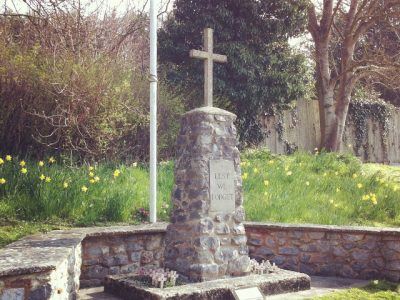 Memorial cross in Chiseldon