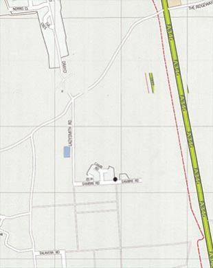 Camp dog bin map