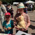 Fete with children Chiseldon