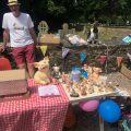 Stall at fete, Chiseldon