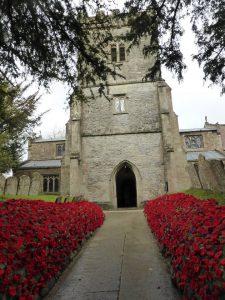 Churchyard full of Poppies 2018