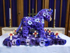 Horse memorial in Church 2018