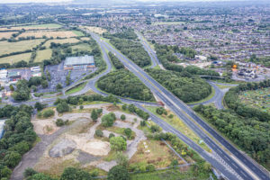 The White Hart roundabout will be revamped thanks to £22.5m in funding from the Department for Transport