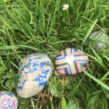 Painted and signed stones