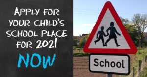 Apply for a child's school place for 2021