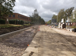 Improvement work progressing at Mead Way