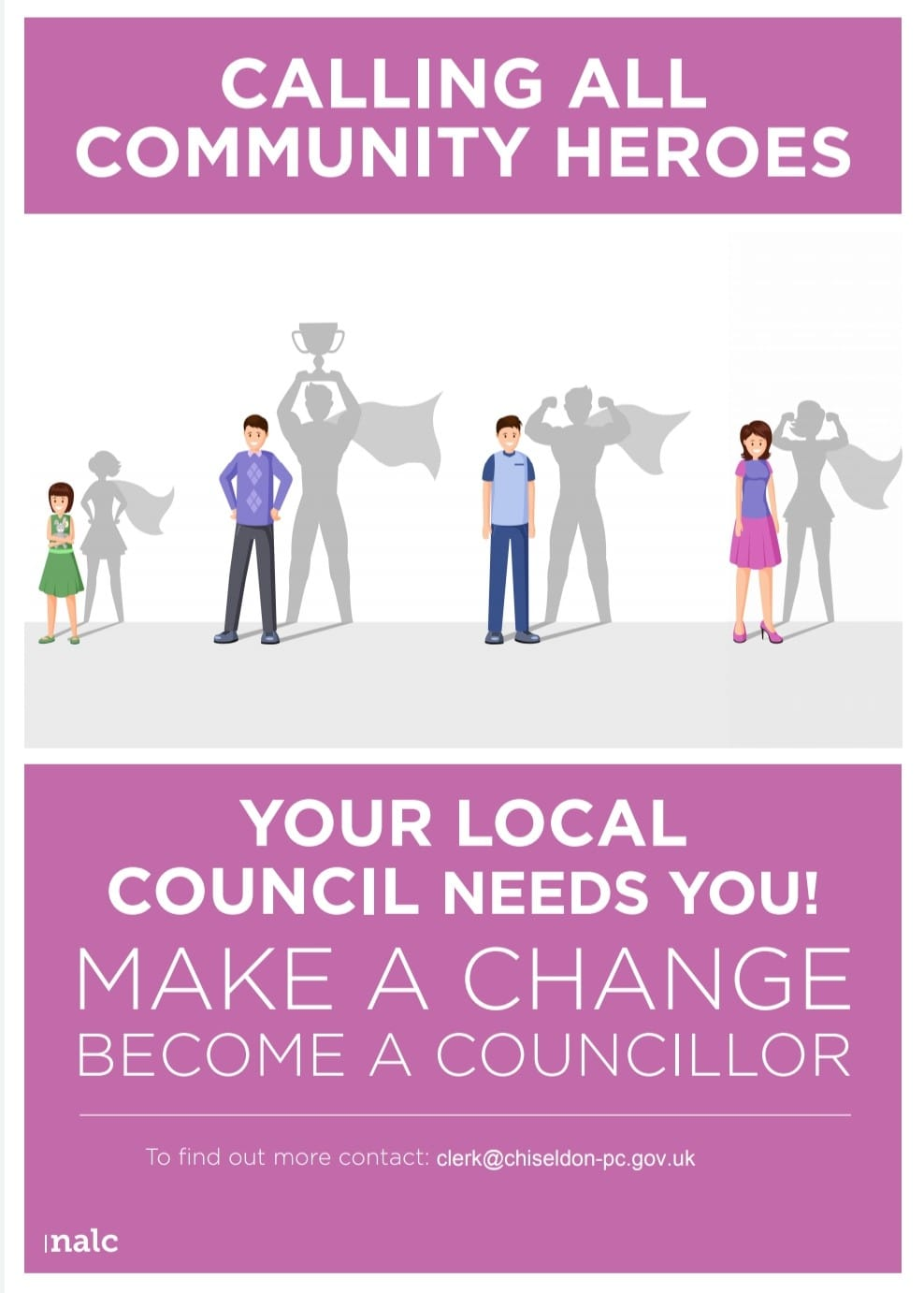 New Councillors Poster