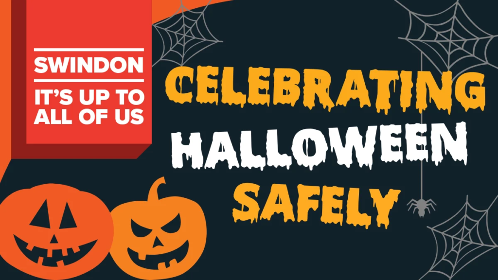 Celebrate Halloween safely poster