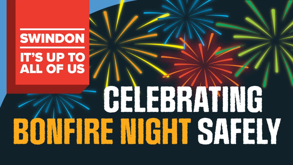 Celebrating bonfire night safely poster