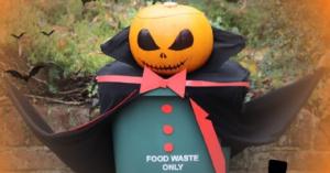 Food waste pumpkin