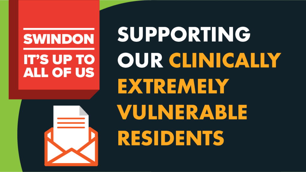 Supporting our clinically extremely vulnerable residents poster