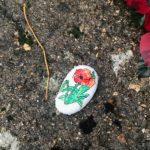 Remembrance Sunday pebble