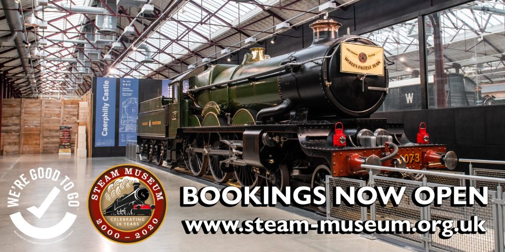 STEAM – Museum of the Great Western Railway is reopening